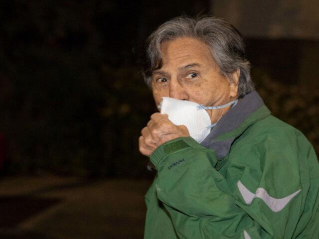 Fiscalía de EE. UU ratificó pedido para que Alejandro Toledo cumpla prisión preventiva