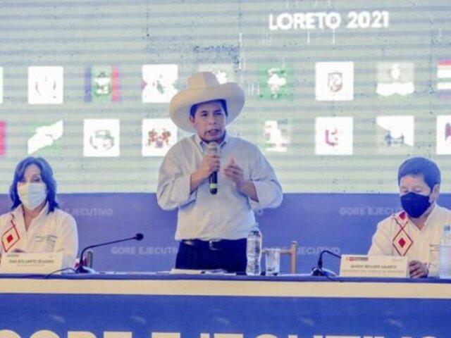 """Pedro Castillo: """"Al corrupto se le dice corrupto y hay que sancionarlo"""""""