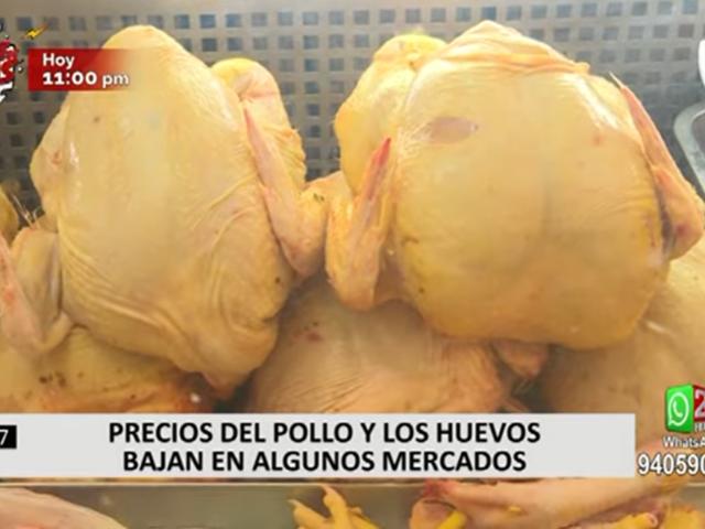 Situación de los precios del pollo, huevo y otros productos en los mercados