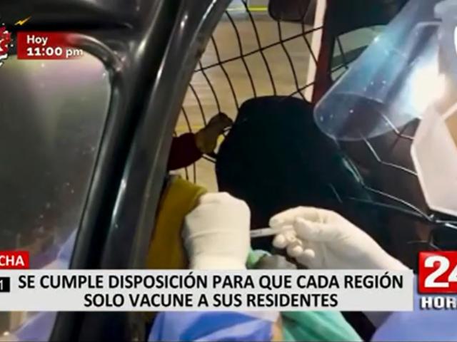 Chincha: enfermera afirma solo locales se vienen vacunando tras disposición del Minsa