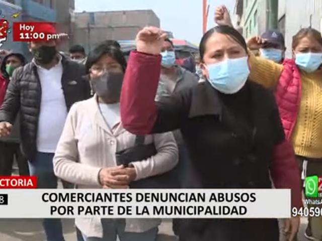 La Victoria: negocios denuncian abusos por parte de la municipalidad