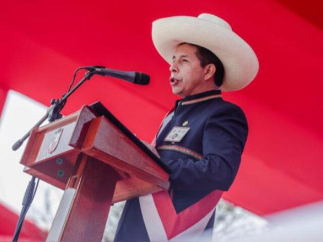 """Presidente Castillo afirmó que está dispuesto a llevar adelante una """"verdadera"""" descentralización"""