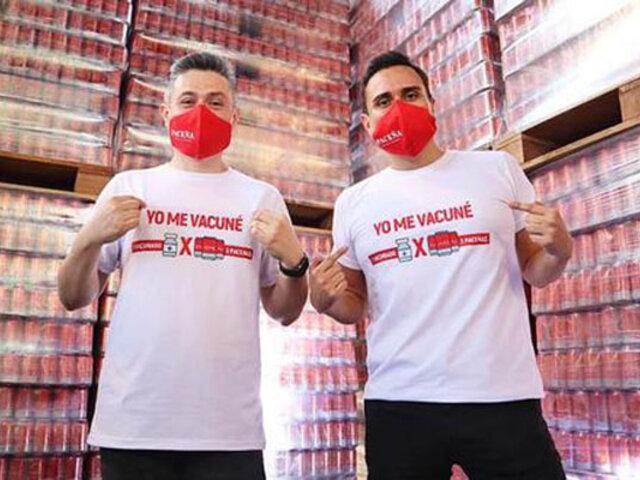 Covid-19: para incentivar  la vacunación deciden regalar latas de cerveza