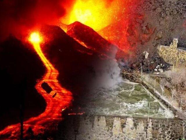 España: Volcán Cumbre Vieja sigue activo y generando fuertes explosiones