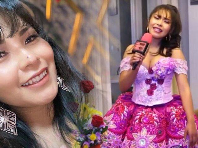 Yarita Lizeth sorprende a folklóricas en el Centro de Lima