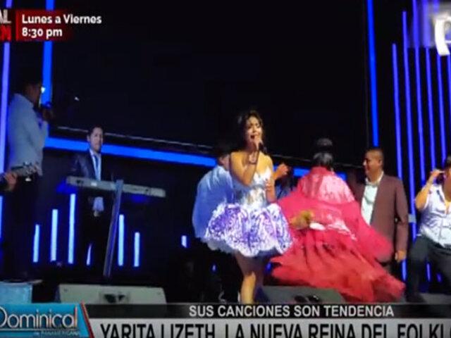 Yarita Lizeth: joven cantante es considerada la nueva reina del folklore