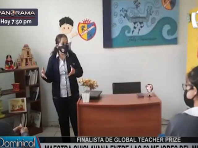 Global Teacher Prize: profesora chiclayana entre las 50 mejores del mundo
