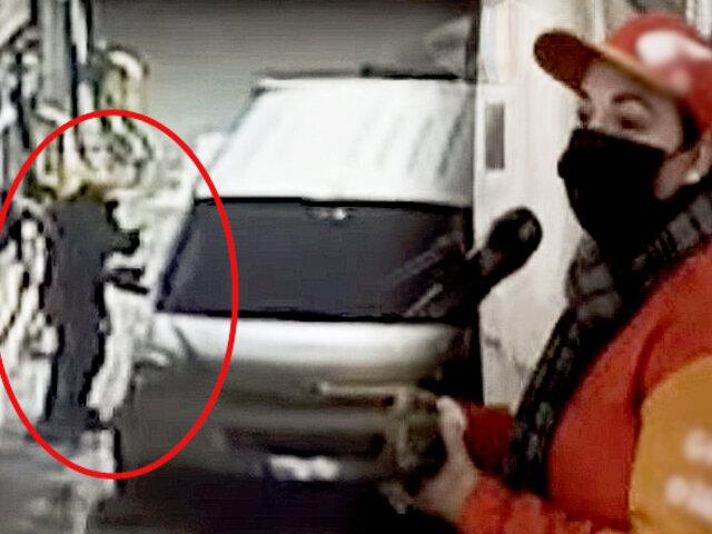 Nueva modalidad de robo: se abastecen de gasolina y luego se fugan sin pagar