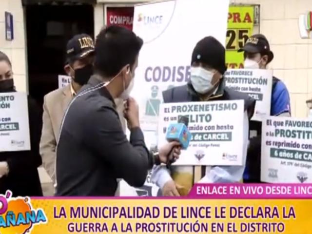D'Mañana: Municipalidad de Lince declara la guerra a la prostitución en el distrito