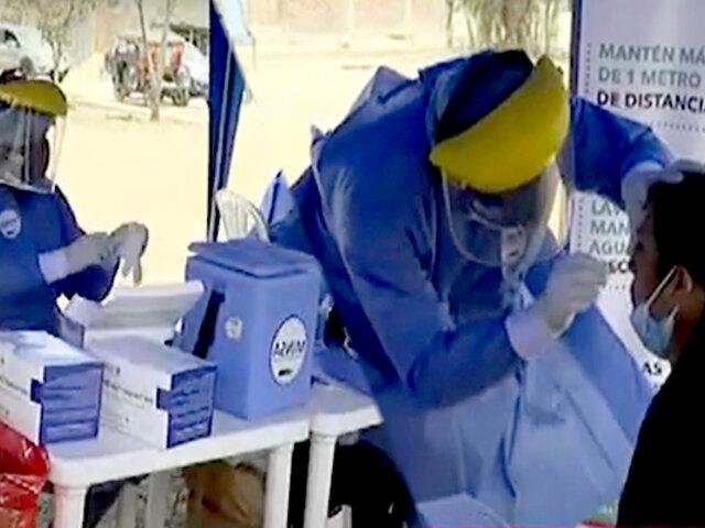 Pachacámac: brigadas de vacunación van al encuentro de aquellos que no pudieron inocularse