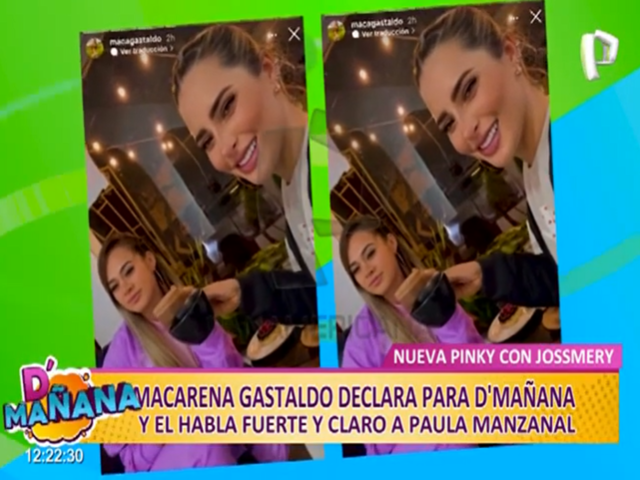 Macarena Gastaldo le habla fuerte y claro a Paula Manzanal