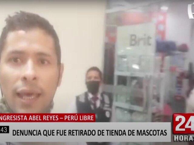 Huánuco: congresista de Perú Libre denuncia que lo echaron de tienda y lo tildaron de borracho