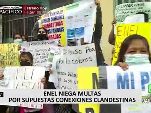 SMP: vecinos denunciaron a Enel por presuntas multas injustificadas