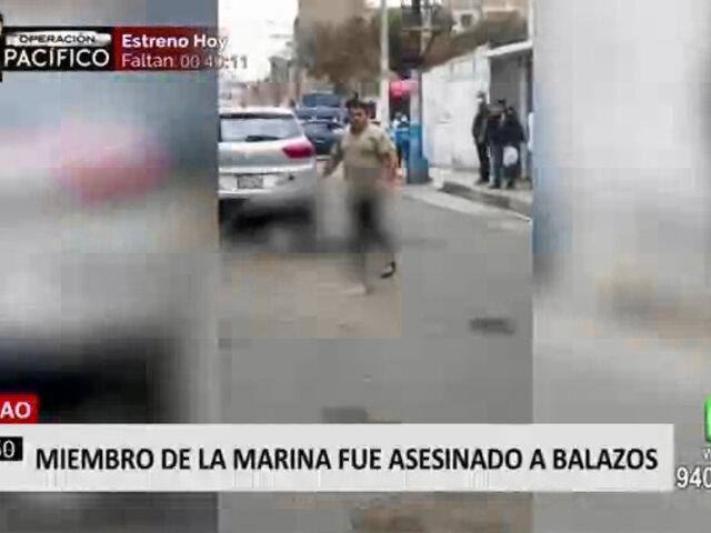 Callao: asesinan a balazos a marino cuando iba a visitar a su familia