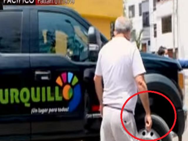 Surquillo: sujeto amenazó con un destornillador para evitar que grúa se lleve su vehículo
