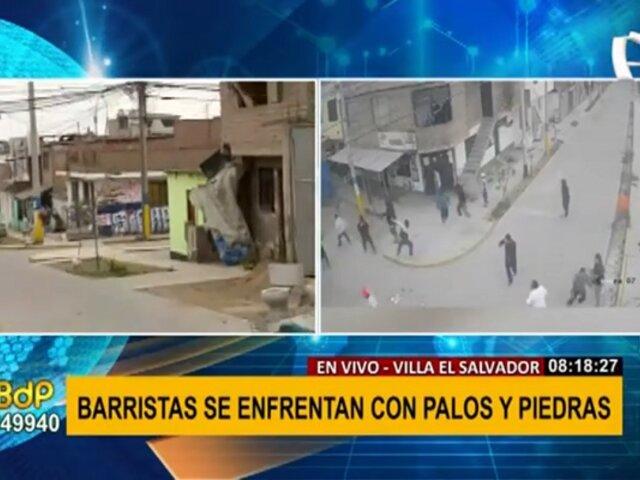 Hinchas se enfrentan en VES: vecinos temen denunciar por amenazas de barristas