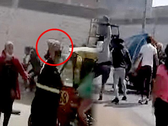 Municipalidad de Ate se pronuncia sobre presunta agresión a mototaxista por fiscalizadores