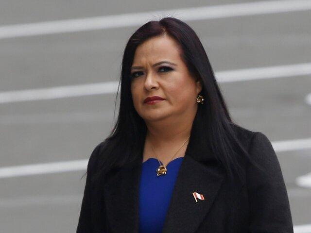 Ministerio Público presentó denuncia contra Miriam Morales y Richard Cisneros por contratación irregular