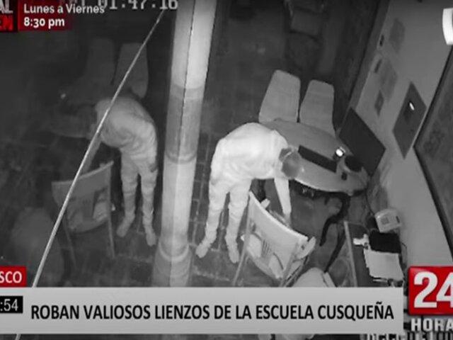 Cusco: Robaron pinturas de la Escuela Cusqueña de un hotel en la ciudad