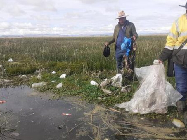 Puno: distritos otra vez en emergencia por contaminación de agua para consumo humano