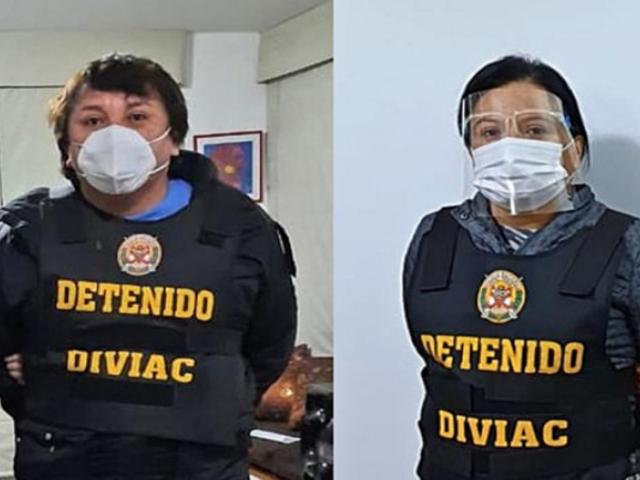 Fiscalía  pide que Richard Cisneros y Miriam Morales queden inhabilitados de ejercer cargos públicos