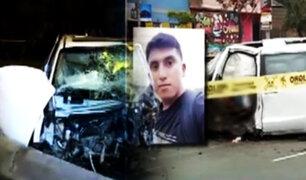 Continúan investigaciones por muerte de suboficial de tercera en accidente de tránsito