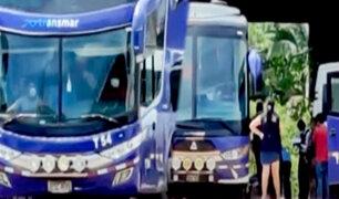 Pucallpa: hallan muerto a pasajero al interior de un bus interprovincial