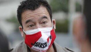 Acción Popular: Congresista Edwin Martínez renunció a bancada