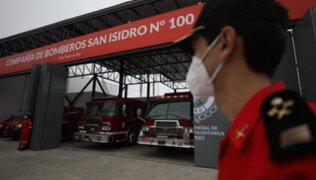San Isidro: Bomberos recibieron nueva estación