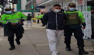 Pueblo Libre: detienen a delincuentes con 15 celulares robados y un arma de fuego