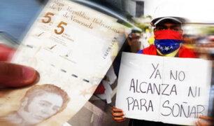 Crisis en Venezuela: Ahora un millón de bolívares soberanos equivalen solo a un bolívar digital