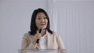 "Keiko Fujimori sobre Guido Bellido: ""tiene que ser censurado de manera inmediata"""