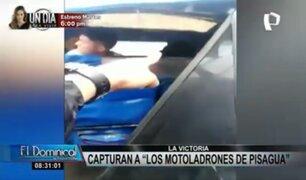 """Capturan a los 'motoladrones de Pisagua"""": menor de edad figura entre detenidos"""