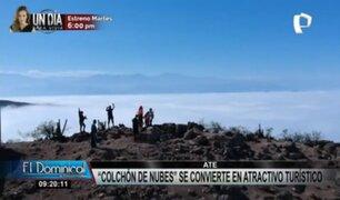"""Maravilla natural en Ate: conozca el """"Colchón de nubes"""" a más de 1 100 metros"""
