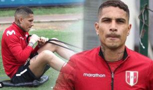 Listo para enfrentar a Chile: Paolo Guerrero se unió a los entrenamientos de la Bicolor