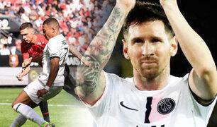 PSG cayó 2-0 ante el Rennes con Messi y Neymar en la cancha