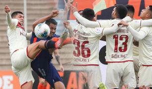 Universitario en el tercer lugar del acumulado tras vencer 3-0 a Vallejo