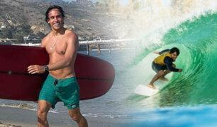 Surf: Lucas Garrido Lecca obtuvo quinto puesto en evento internacioanal