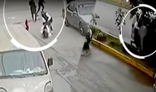 San Luis: delincuentes a bordo de miniván roban a pareja