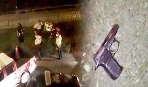 Pueblo Libre: jóvenes barristas se enfrentan a balazos con agentes del orden