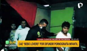 'Beboo lovers': sujeto que difundía pornografía infantil fue capturado gracias a alerta de Facebook