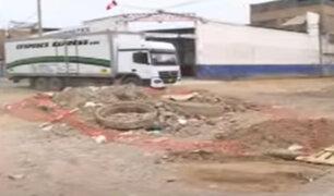 La Victoria: vecinos denuncian que obra inconclusa se ha convertido en botadero de basura