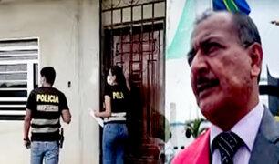 Buscan a gobernador regional de Tumbes para que cumpla prisión por colusión agravada