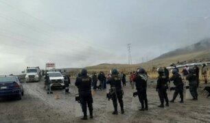 Paro en el Cusco: pobladores bloquean Corredor Minero del Sur