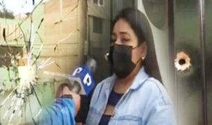 Atacan a balazos vivienda de empresaria por no pagar una presunta extorsión
