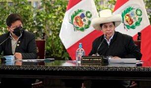 Pedro Castillo: Suspenden Consejo de Ministros tras 30 minutos de reunión