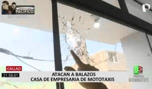 Callao: balean casa de una familia que tiene empresa de mototaxi