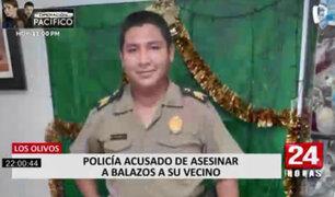 Los Olivos: policía vestido de civil asesinó de diez disparos a vecino