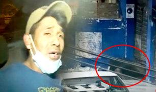 Surquilllo: atrapan en pleno robo a dos delincuentes en tienda de mayólicas
