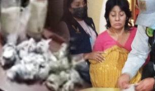 Clan familiar que vendía droga era liderado por una mujer de 54 años